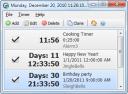 Скачать программа Free Countdown Timer бесплатно